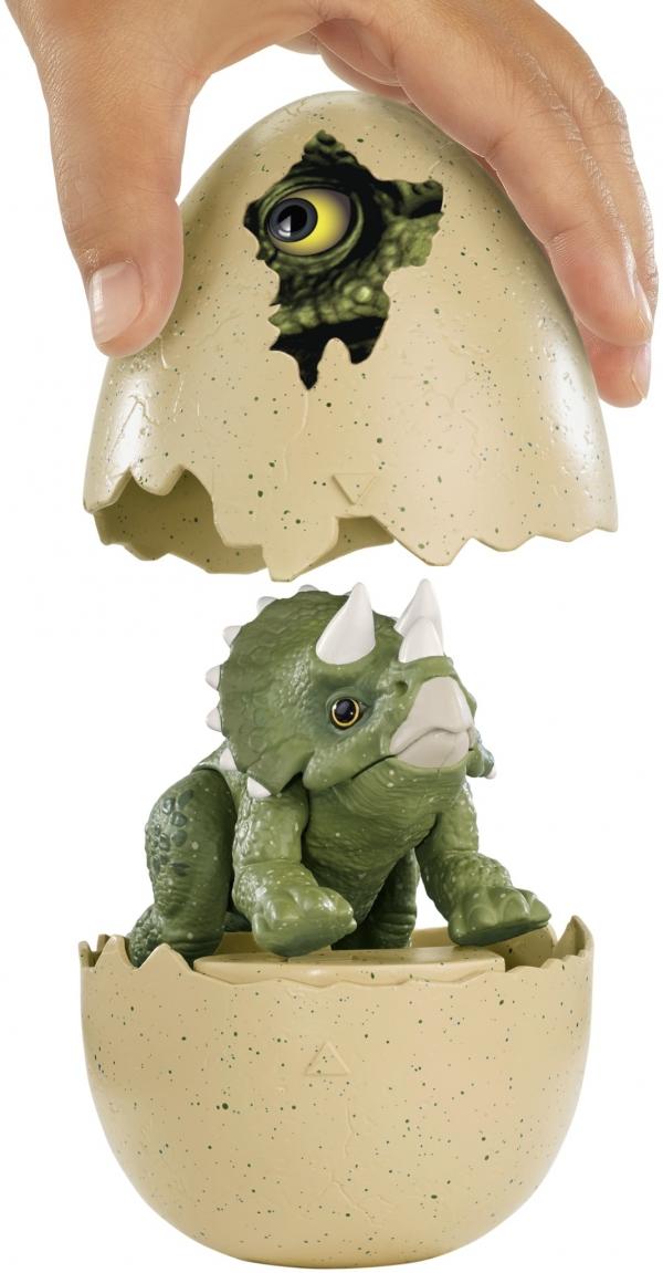Jajkozaury: Wykluwający się dinozaur - Triceratops (FMB91/FMB94)