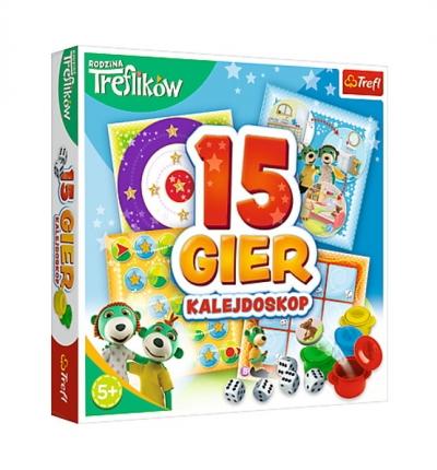 Kalejdoskop 15 gier - Rodzina Treflików (01922)