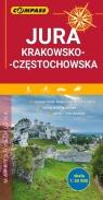 Mapa turystyczna Jura Krakowsko-Częstochowska 1:50 000