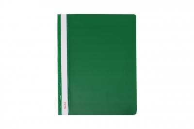 Skoroszyt PCV miękki A4 - zielony op.20szt SM-01-02 BIURFOL