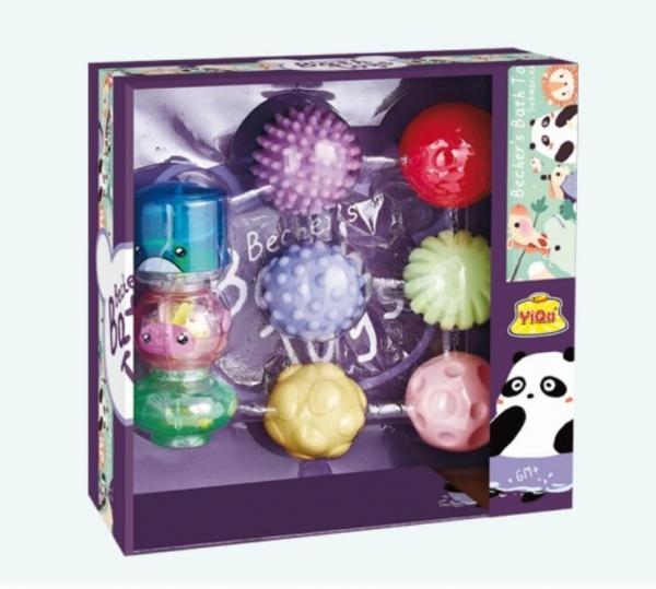 Zestaw zabawek do wody-piłeczki (YQ8221-2)