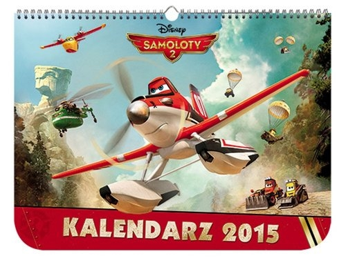 Samoloty 2 Kalendarz ścienny na 2015