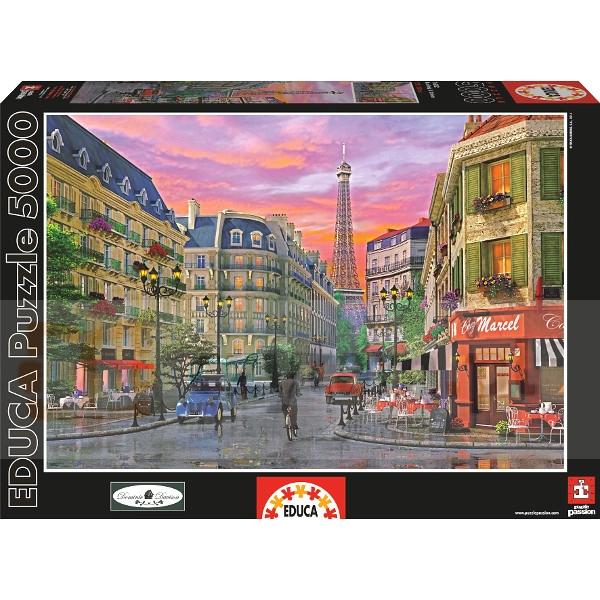 Puzzle Ulica Paryża d. Davison 5000 elementów (16022)