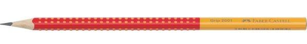 Ołówek GRIP 2001,HB Two Tone - czerwony (517022)