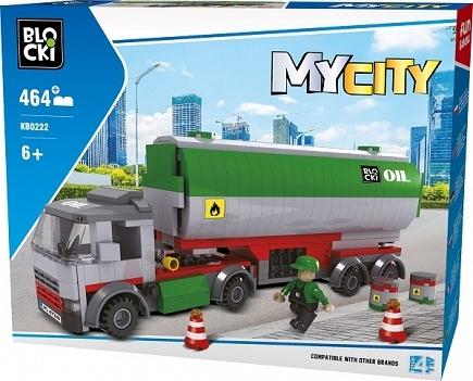 Klocki Blocki: MyCity - Cysterna 464 el. (KB0222)