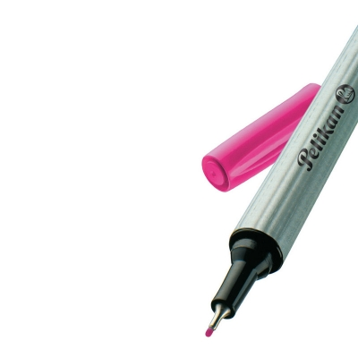 Cienkopis FineLiner 96 0,4 mm Pelikan - różowy (943225)