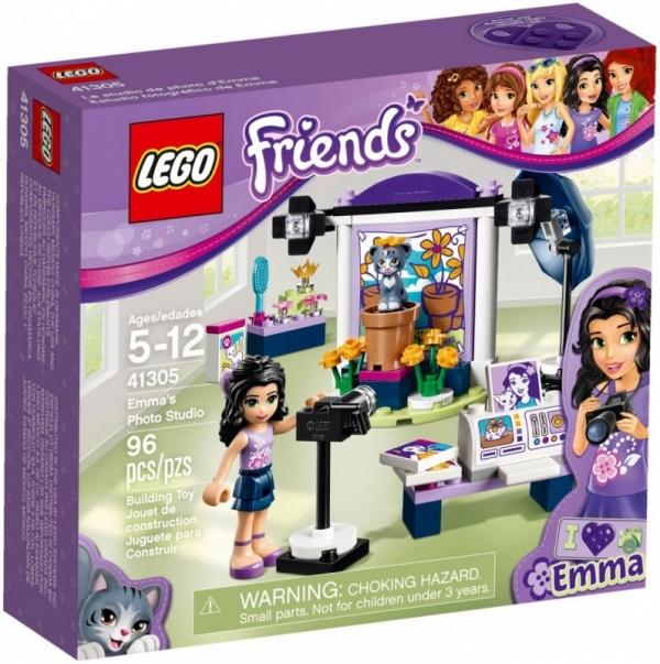 Lego Friends: Pracownia fotograficzna Emmy (41305)
