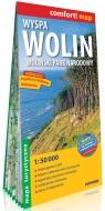 Wyspa Wolin Woliński Park Narodowy laminowana mapa turystyczna 1:50 000