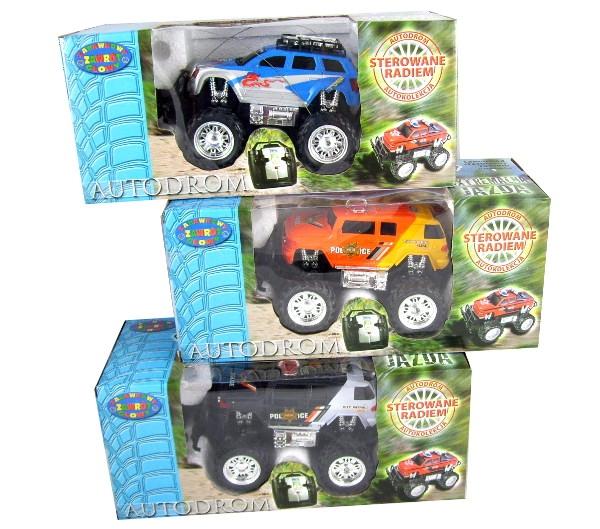 DROMADER Autodrom Monster Truck na radio (505822)