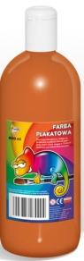 Farby plakatowe jasny brąz, 500 ml