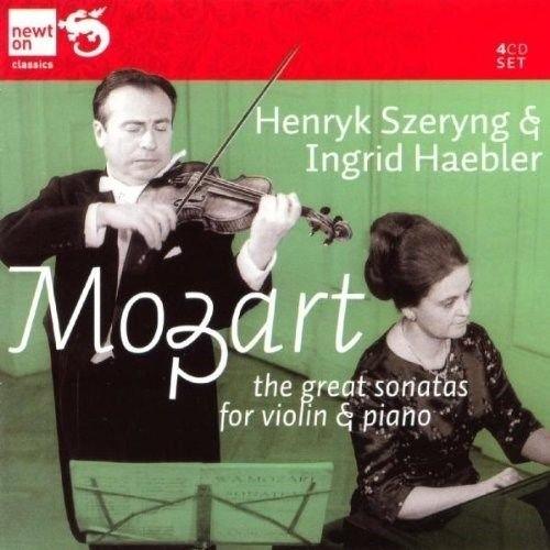 Mozart The Great Sonatas for Violin Piano Henryk Szeryng, Ingrid Haebler