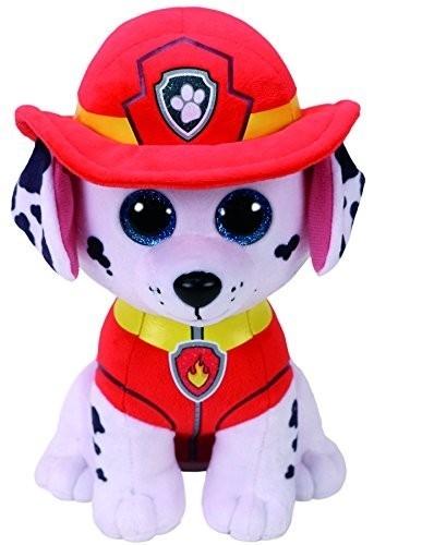 Maskotka Beanie Babies Psi Patrol - Marshall 24 cm