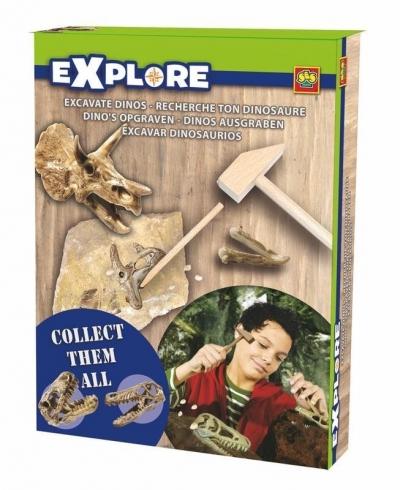Mały Archeolog Dinozaury
