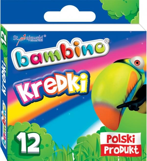 Kredki Bambino 12 kolorów