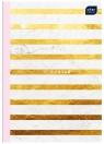 Zeszyt A5/60 kartkowy w kratkę - Mat + UV FSC