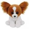 Maskotka Beanie Babies Barks - Brązowy Pies 15 cm (41206)