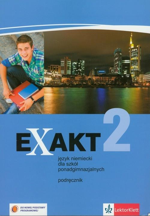 Exakt 2 Podręcznik z płytą CD Zakres podstawowy Motta Giorgio