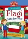 Domowa szkoła Flagi państwowe Książeczka z naklejkami