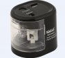Temperówka na baterie dwuotworowa czarna EG-5161