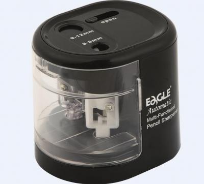 Temperówka na baterie, dwuotworowa - czarna (EG-5161)