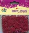 Cekiny Kwiaty 10mm 14g czerwone
