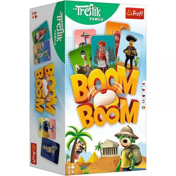 Gra Boom Boom Rodzina Treflików (02122)