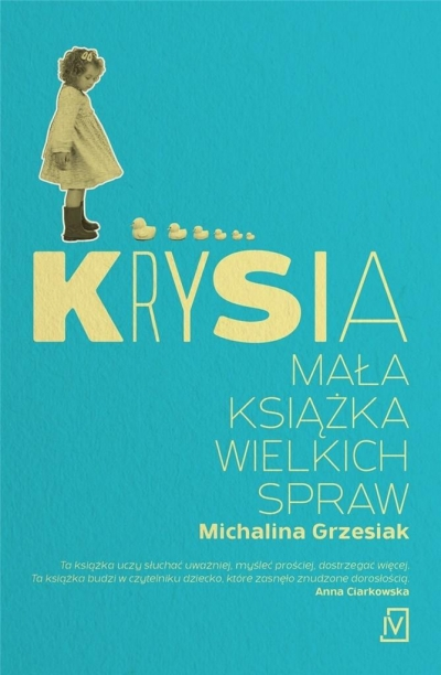 Krysia Mała książka wielkich spraw Grzesiak Michalina