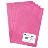 Filc poliestrowy A4, 5 szt. dark pink (DPFC-013)