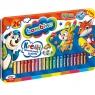Kredki Bambino drewniane, 26 kolorów + temperówka