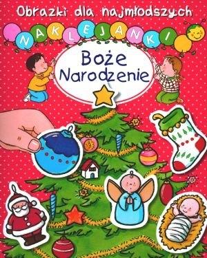 Boże Narodzenie Obrazki dla najmłodszych Naklejanki Hublet Ch., Michelet S.