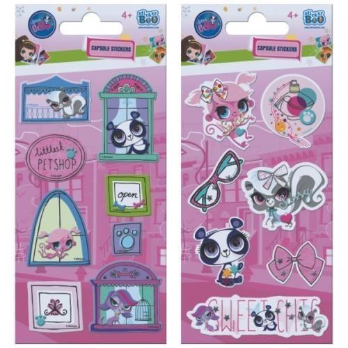 Naklejki Sticker BOO capsule - Littlest Pet Shop