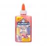 Elmer's metaliczny klej PVA, zmywalny, różowy, 147 ml - doskonały do Slime