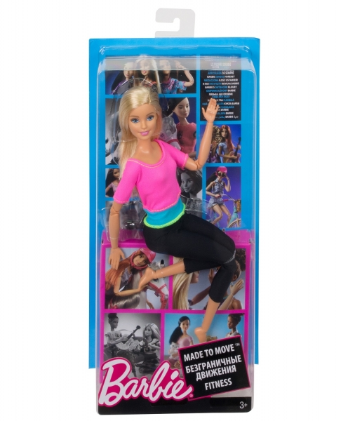 Barbie: Made to Move - lalka fitness (DHL81/DHL82)
