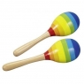 Kolorowe marakasy 2 sztuki (GOKI-61922)