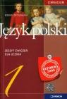 Język polski 1 Zeszyt ćwiczeń