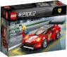 Lego Speed Champions: Ferrari 488 GT3 Scuderia Corsa (75886) Wiek: 7+