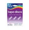 Krążki klejące bezbarwne Tape Discs