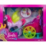 Barbie Dreamtopia: Rydwan i pegaz + Lalka księżniczka (GJK53) Wiek: 3+