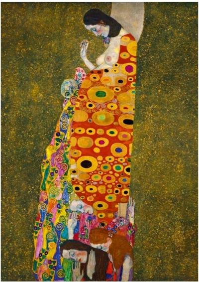 Puzzle 1000: Nadzieja, Gustav Klimt 1908 (60022)