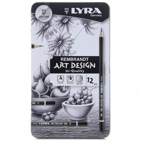 Ołówki metalowe - 12 szt. (L1111120)