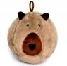 Piłka Fuzzy Ball S'cool Bear brązowa D.RECT