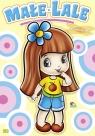 Kolorowanka. Małe lale - Dziewczymka z niebieskim kwiatkiem (A-5, 12 str.)