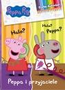 Świnka Peppa Dodaj kolorów! nr 4. Peppa i przyjaciele
