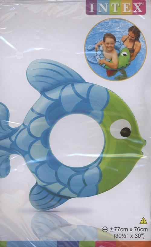 Kółko rybka 77X76 cm mix kolorów (59222)