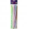 Druciki kreatywne, 25 szt. x 30cm - pastelowe (KSDR-003)