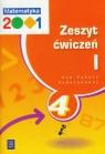 Matematyka 2001 4 Zeszyt ćwiczeń część 1 Szkoła podstawowa Chodnicki Jerzy, Dałek Krystyna, Dąbrowski Mirosław
