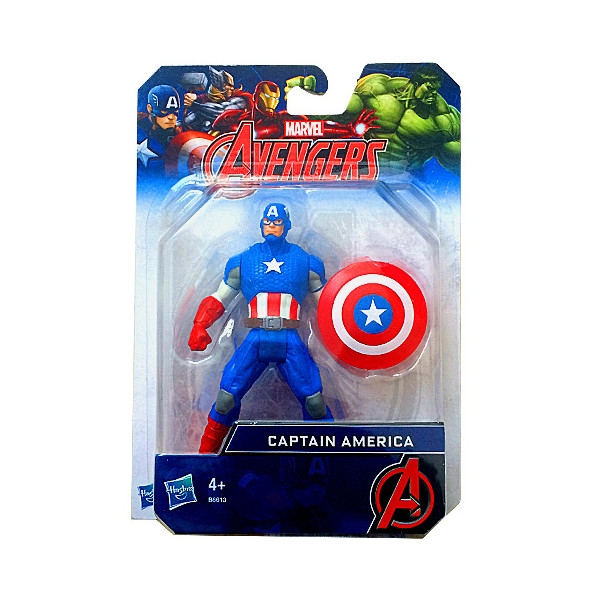 HASBRO AVN All Star figurka, Captain Am. (B6295EU40/B6613)