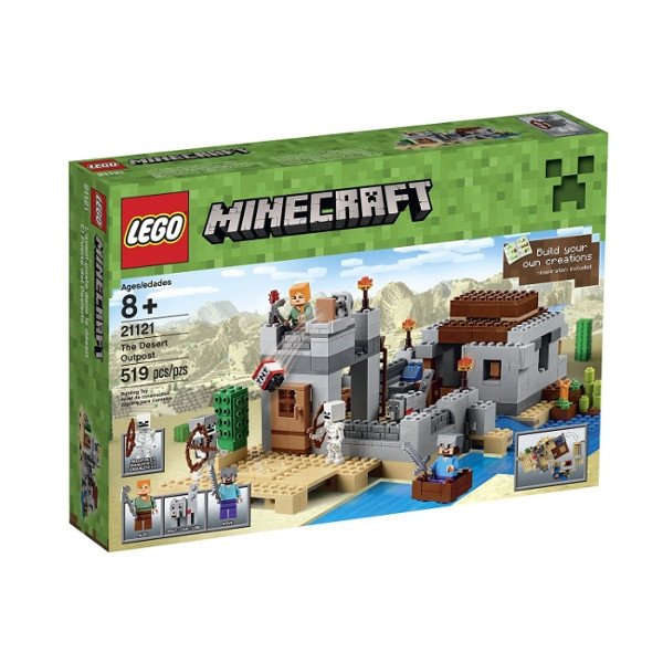 LEGO Minecraft The Desert outpost (21121)