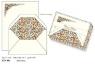Papeteria box 10 kopert i 10 papierów listownych FZN 001