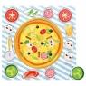 Układanka drewniana Pizza (88122)